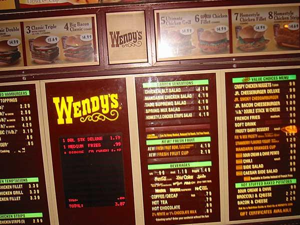 Wendys Woodmans 99 Pennies